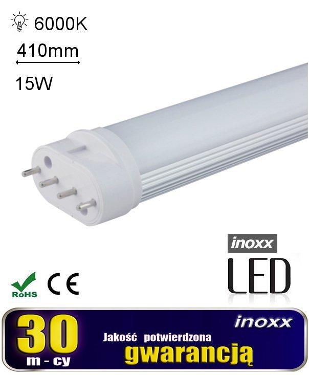 Świetlówka led kompaktowa pl-l 2g11 15w zimna