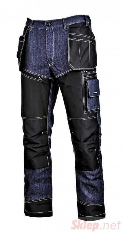"""Spodnie jeansowe niebieskie ze wzmocnieniami, """"2xl"""",ce,lahti"""