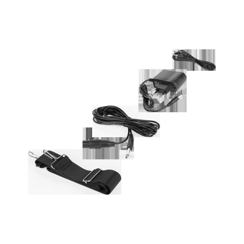 Mały przenośny aktywny zestaw głośnikowy marki REBEL z funkcją MP3, Bluetooth, radio FM oraz funkcją