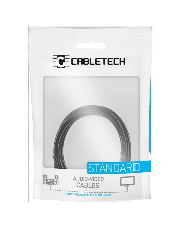 Kabel 2RCA-2RCA 5m Cabletech standard
