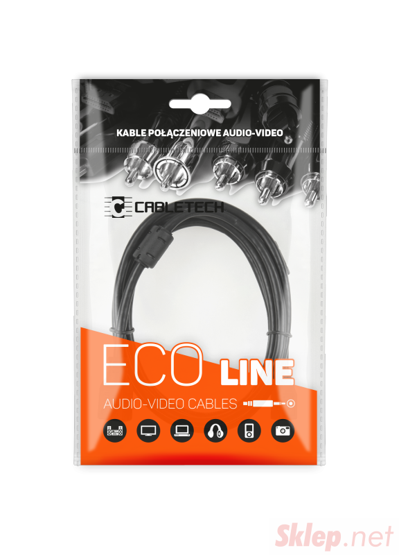 Kabel HDMI - mini HDMI   1.8m Cabletech Eco-Line
