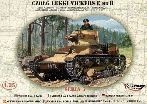 Vickers E Mk B Polski Czołg Jednowieżowy - 1:35