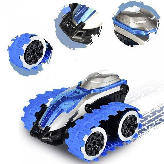 Samochód gąsienicowy 1:24 2.4GHz RTR - niebieski