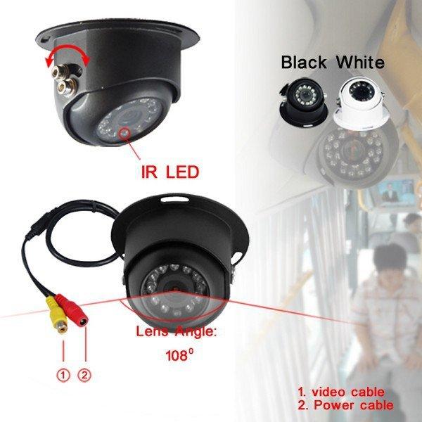NVOX GDB06R 4PIN Kamera do samochodów ciężarowych oraz busów CCD... (NVOX GDB06R 4PIN)