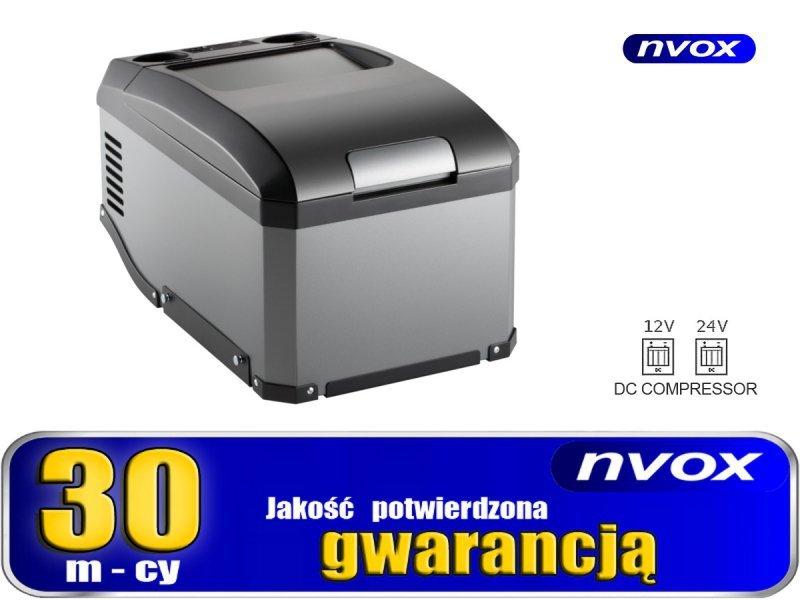 Lodówka turystyczna samochodowa 30l sprężarkowa 12v 24v