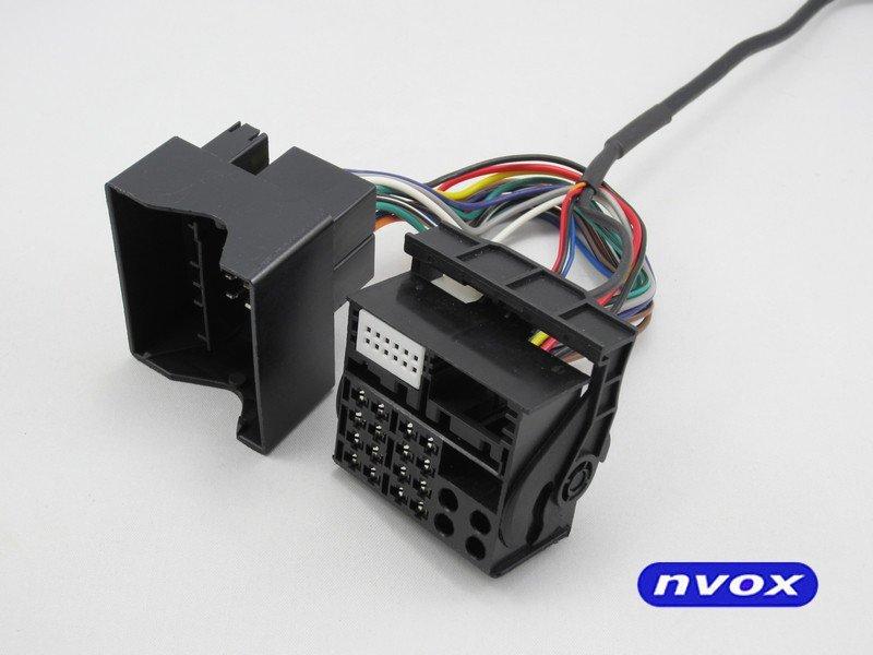 Zmieniarka cyfrowa emulator MP3 USB SD RENAULT 12PIN... (NVOX NV1086M REN 12PIN)