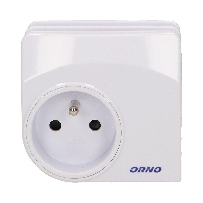 Ładowarka sieciowa USB z gniazdem elektrycznym i stacją dokującą