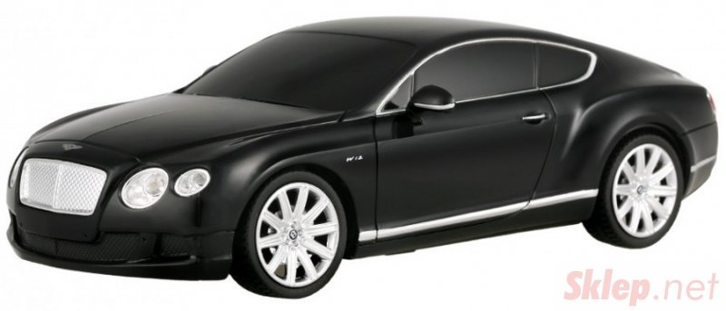 Bentley Continental 1:24 RTR (zasilanie na baterie AA) - czarny