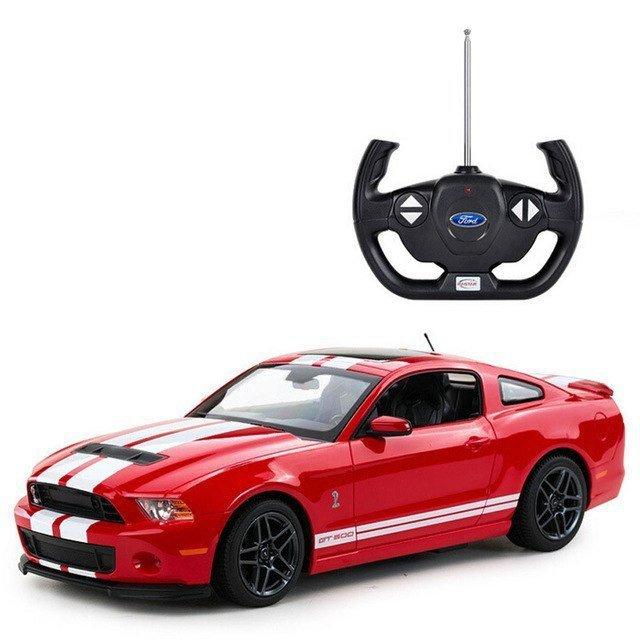 Ford Shelby RASTAR 1:14 RTR (zasilanie na baterie AA) - Czerwony