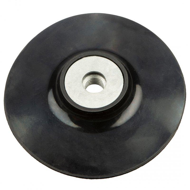 Tarcza elastyczna z rzepem 125 mm x M14 + trzpień