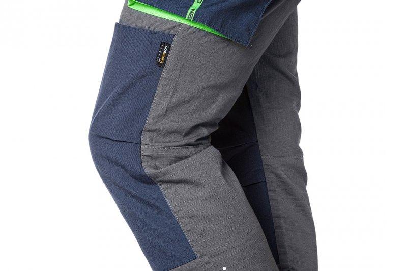 Spodnie robocze PREMIUM, 100% bawełna, ripstop, rozmiar XXXL