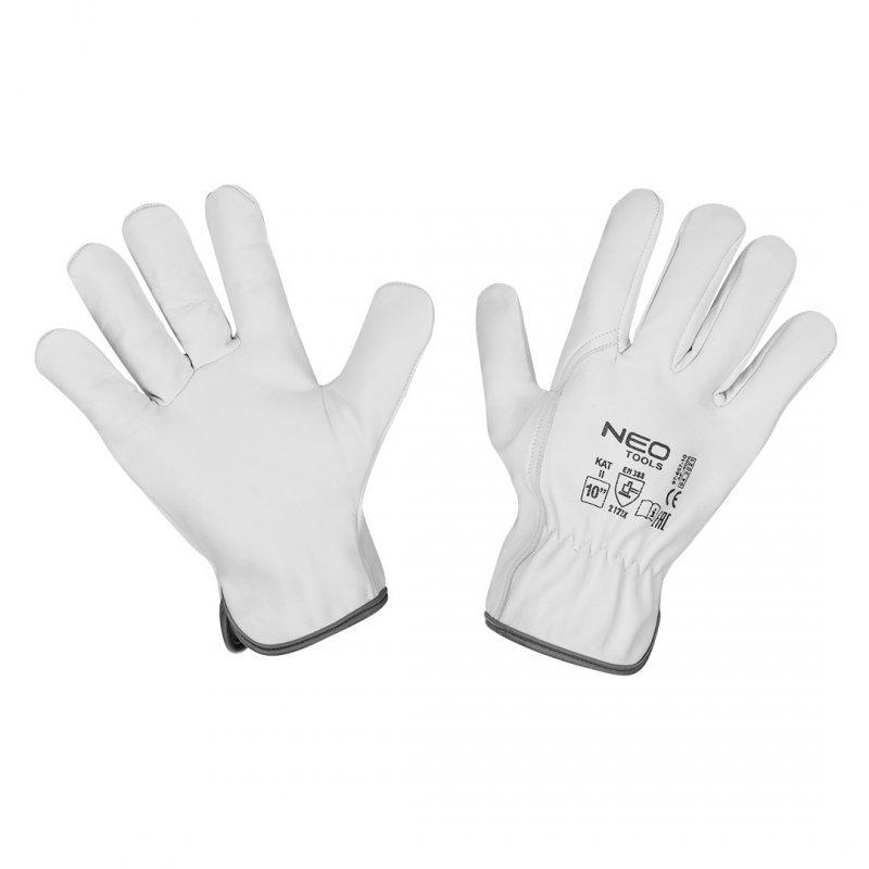 """Rękawice robocze, 2122X, skóra kozia,  rozmiar 10"""", CE"""