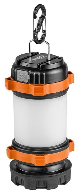 Lampa biwakowa akumulatorowa 800 lm powerbank 3 w 1 CREE T6 + SMD LED