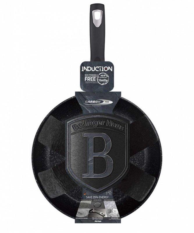 PATELNIA GRANITOWA 28cm BERLINGER HAUS BH-6890 CARBON PRO