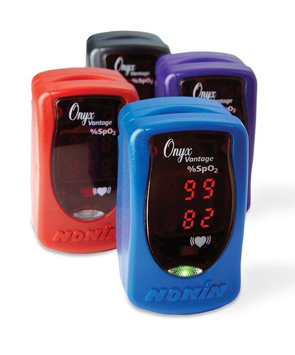 NONIN Onyx Vantage 9590-niebieski Pulsoksymetr napalcowy