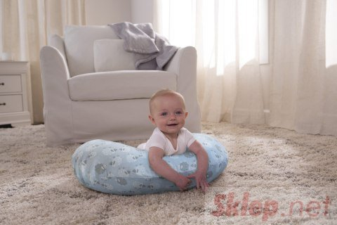 Chicco Boppy-Błękitna Soft Sheep Różne kolory i wzory