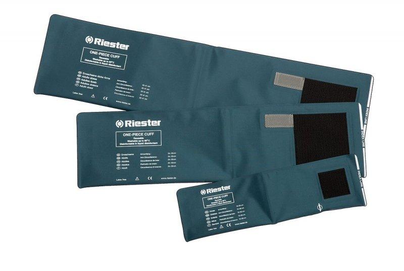 RIESTER Mankiety jednowężykowe-mankiet na zaczepy dla dorosłych 24 - 32 cm do ciśnieniomierzy zegarowych