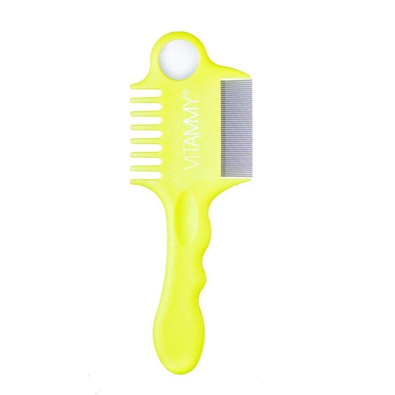 Vitammy Fino Kolor pear/ spring green-1 sztuka Zestaw grzebieni na wszy i gnidy