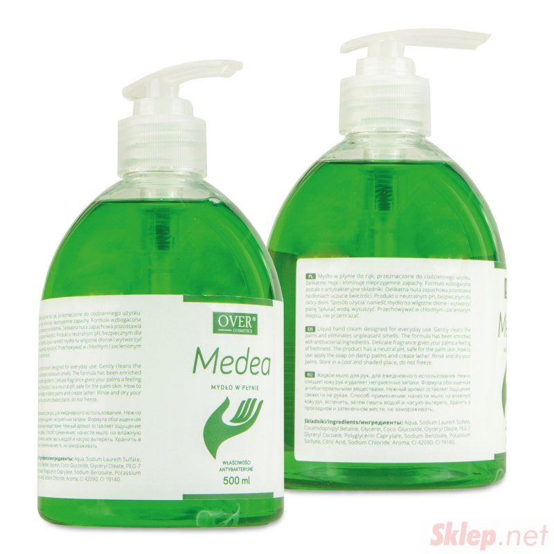 Over Medea - cosmetics 500ml Mydło antybakteryjne do rąk
