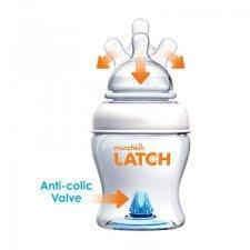 Munchkin Latch 0m+ Zestaw 2 butelek 120 ml