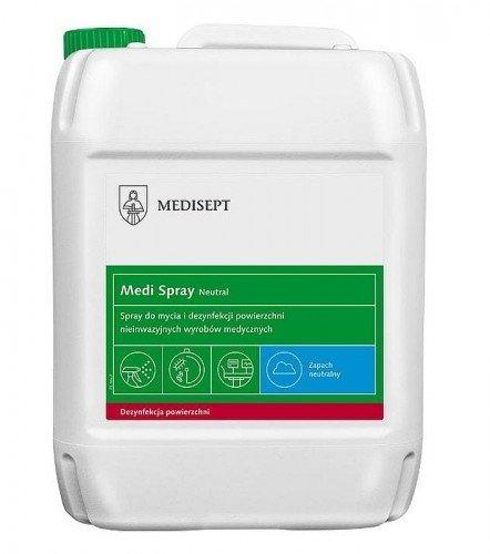 Medisept Velox Spray 5L Płyn do mycia i dezynfekcji