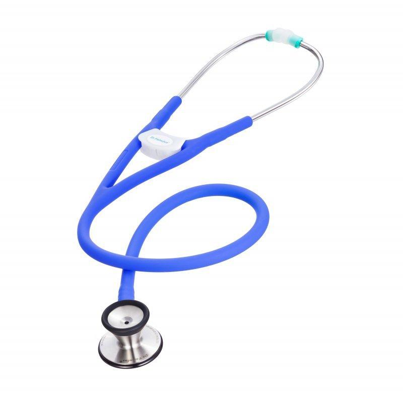 Dr. Famulus stetoskop następnej generacji - DR530 purple Stetoskop kardiologiczny - podwójne światło przewodu