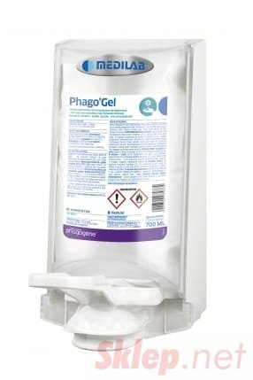 Medilab STERISOL PHAGO GEL 700 ML żel do higienicznej i chirurgicznej dezynfekcji rąk