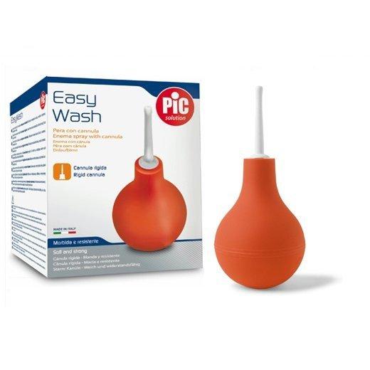 PIC Easy Wash ze sztywnym aplikatorem-365 ml Gumowa gruszka ze sztywnym aplikatorem