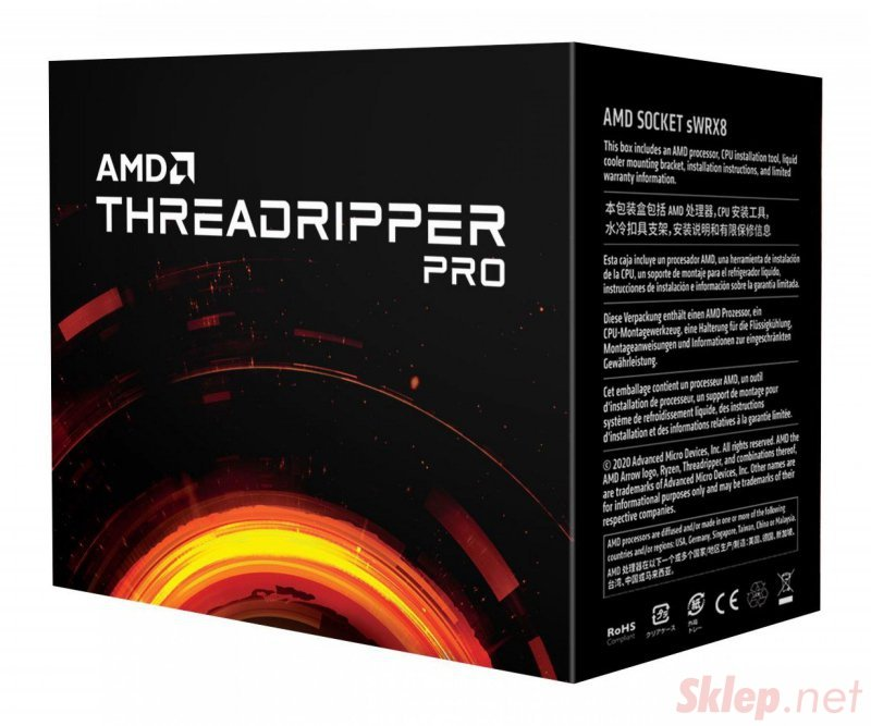 Procesor AMD Ryzen Threadripper PRO 3955WX (64M Cache, up to 4,3 GHz)