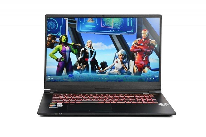 "Laptop do gier HIRO C770 17,3"", 144Hz - i7-10870H, RTX 3070 8GB, 16GB RAM, 1TB SSD M.2, W10"
