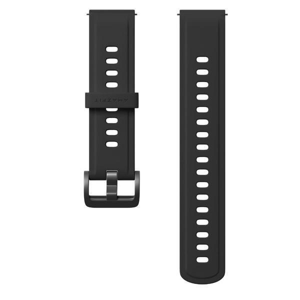 Silikonowy pasek Amazfit 22mm (czarny)