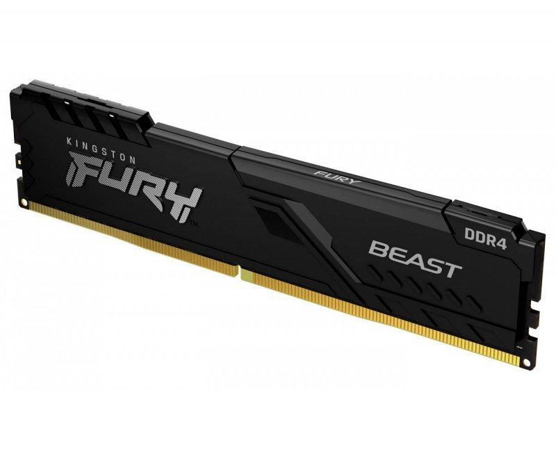 Pamięć RAM HyperX Fury Beast 16GB (2x8GB) DDR4 3200MHz