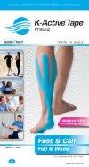 K-Active Kinesiology Tape PreCut Mięsień Trójgłowy Łydki