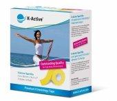 K-Active Elite Kinesiology Tape kolor żółty 5cm/5m (Nitto)