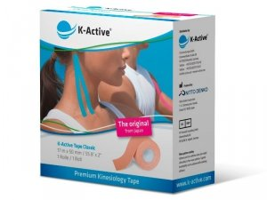 K-Active Kinesiology Tape kolor beżowy 5cm/17 m (Nitto)