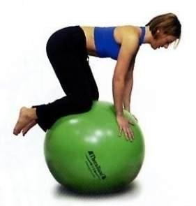 Piłka gimnastyczna TB 65 cm zielona