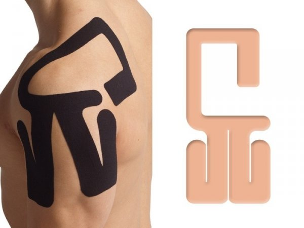 K-Active Kinesiology Tape PreCut Bark Lewy