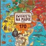 Puzzle Zwierzęta na mapie