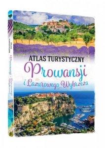 Atlas turystyczny prowansji i lazurowe wybrzeże