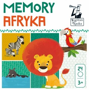 Gra Memory Afryka Kapitan Nauka