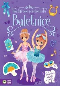 Baletnice. Naklejkowe przebieranki