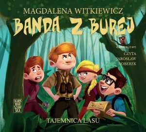 CD MP3 Tajemnica lasu. Banda z Burej