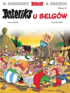 Asteriks u Belgów. Tom 24