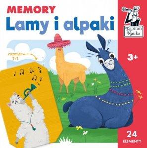 Gra Memory Lamy i alpaki Kapitan Nauka