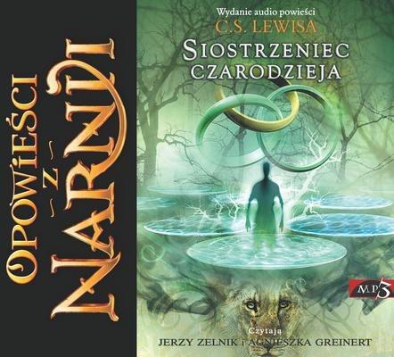 CD MP3 Siostrzeniec czarodzieja opowieści z Narnii Tom 6