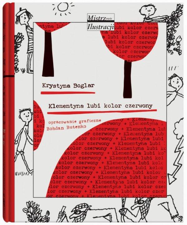 Klementyna lubi kolor czerwony wyd. 2