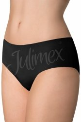 Figi Model Simple panty Black - Julimex Lingerie