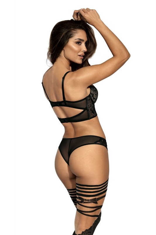 Stringi Model V-9035 Seductive Woman Black - Axami