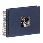 Hama album fine art 24x17/50 niebieski czarne kartki