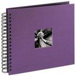 Album 28x24/50 Fine Art fioletowy czarne strony - Hama